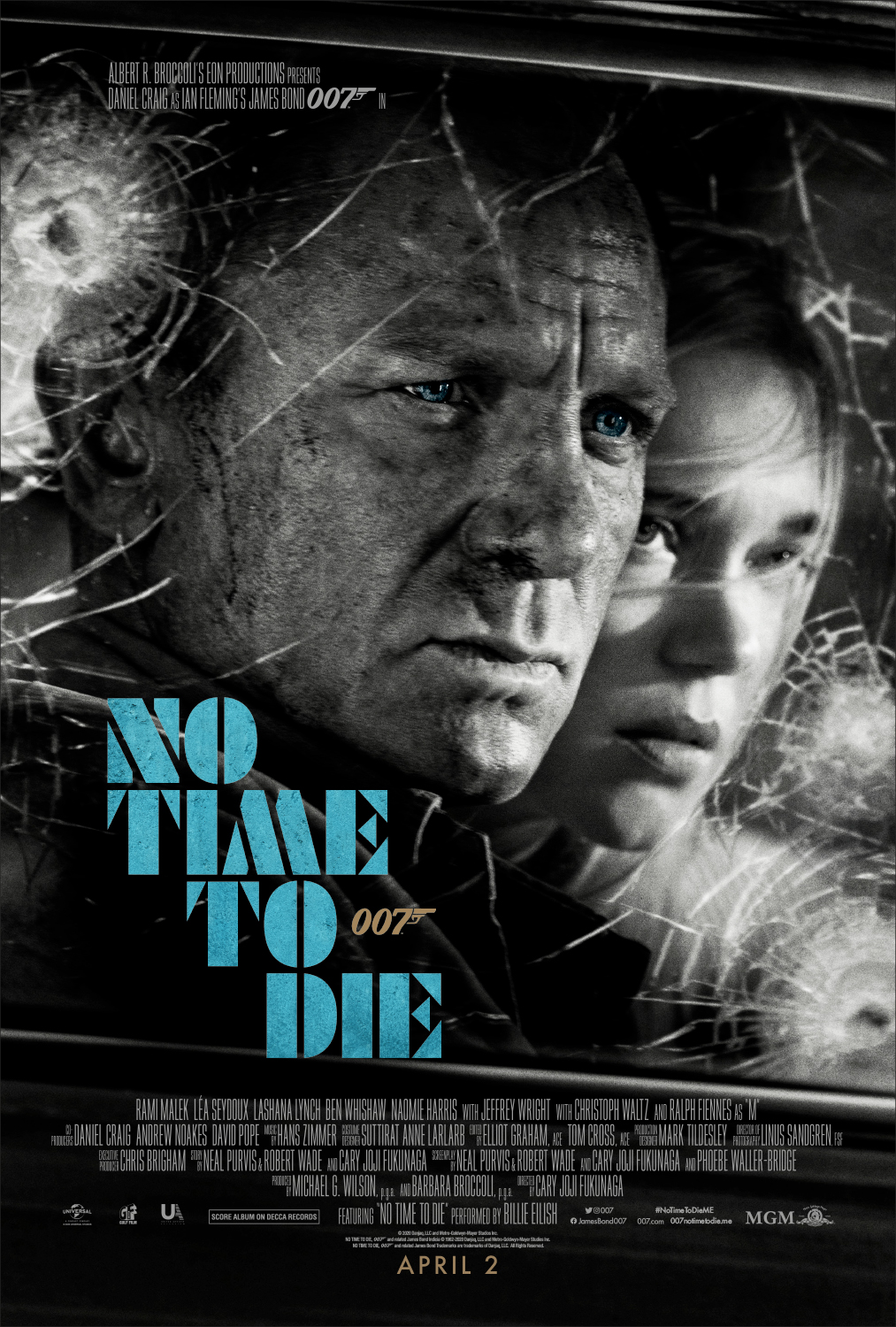 No Time To Die – Final Poster